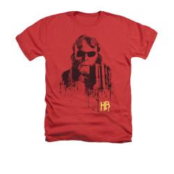 Image for Hellboy II Heather T-Shirt - Splatter Gun