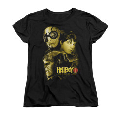 Image for Hellboy II Woman's T-Shirt - Ungodly Creatures
