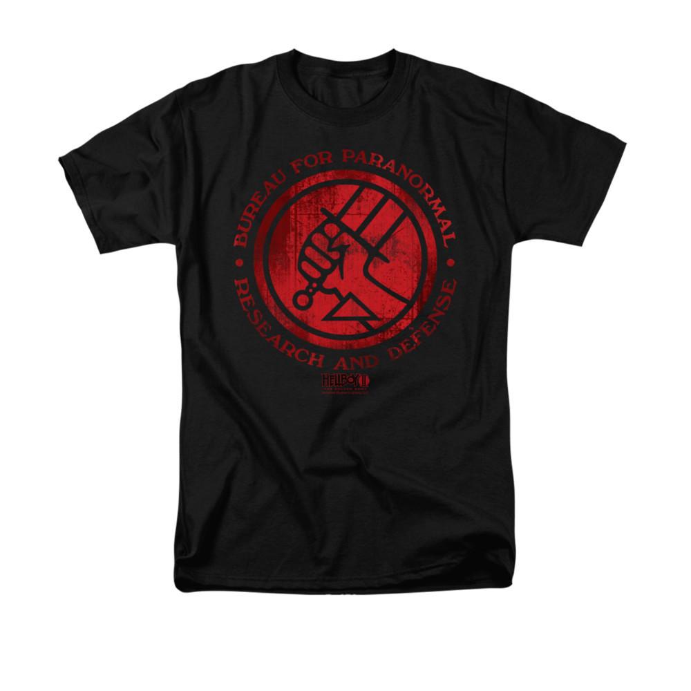 Hellboy II T-Shirt - BPRD Logo