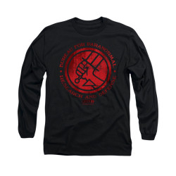 Image for Hellboy II Long Sleeve T-Shirt - BPRD Logo