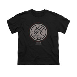 Image for Hellboy II Youth T-Shirt - Mignola Style Logo