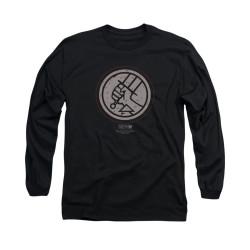Image for Hellboy II Long Sleeve T-Shirt - Mignola Style Logo