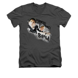 Image for Hot Fuzz V-Neck T-Shirt - Punch That