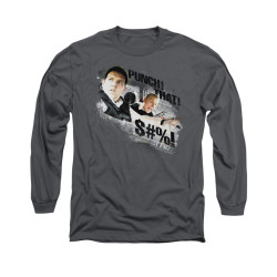 Image for Hot Fuzz Long Sleeve T-Shirt - Punch That