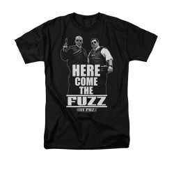 Image for Hot Fuzz T-Shirt - Here Comes the Fuzz