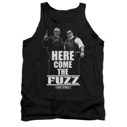 Image for Hot Fuzz Tank Top - Here Comes the Fuzz
