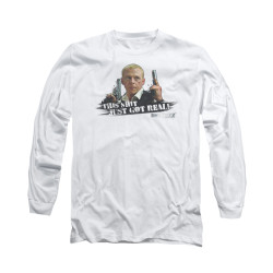 Image for Hot Fuzz Long Sleeve T-Shirt - Things Just Got Real