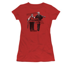 Image for Hot Fuzz Girls T-Shirt - All in a Day's Work
