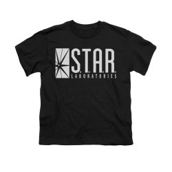 Image for Flash TV Show Youth T-Shirt - S.T.A.R. Laboratories