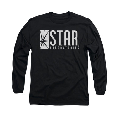 Image for Flash TV Show Long Sleeve T-Shirt - S.T.A.R. Laboratories
