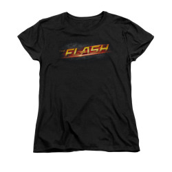 Image for Flash TV Show Woman's T-Shirt - Logo