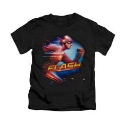 Image for Flash TV Show Kids T-Shirt - Fastest Man