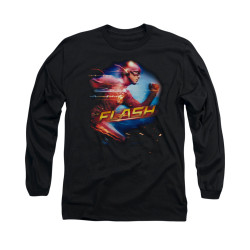 Image for Flash TV Show Long Sleeve T-Shirt - Fastest Man