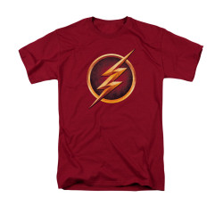 Image for Flash TV Show T-Shirt - Chest Logo