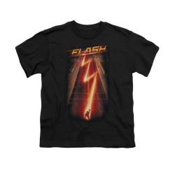 Image for Flash TV Show Youth T-Shirt - Flash Ave.