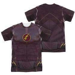 Image Closeup for Flash TV Show Sublimated T-Shirt - Uniform