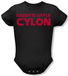 Image for Battlestar Galactica Daddy's Little Cylon Baby Creeper