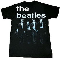 Image Closeup for The Beatles Run for You T-Shirt