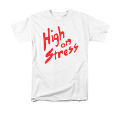 Image for Revenge of the Nerds T-Shirt - High on Stress