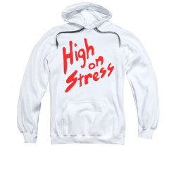 Image for Revenge of the Nerds Hoodie - High on Stress