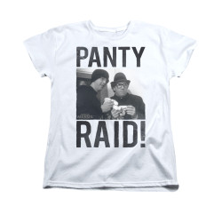 Image for Revenge of the Nerds Woman's T-Shirt - Panty Raid