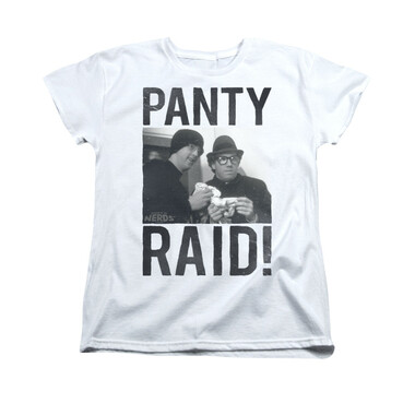 Image for Revenge of the Nerds Woman's T-Shirt - Panty Raid