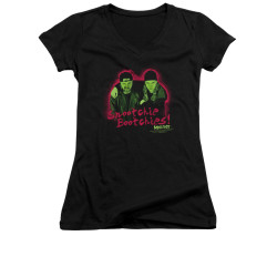 Image for Mallrats Girls V Neck T-Shirt - Snootchie Bootchies