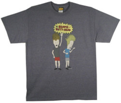 Beavis and Butt-head Air Guitar T-Shirt