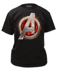Image for The Avengers Age of Ultron T-Shirt - Logo