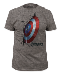 Image for The Avengers Age of Ultron T-Shirt - Crash Shield