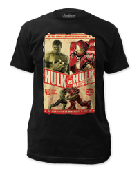 image for The Avengers Age of Ultron T-Shirt - The Green Vs the Machine