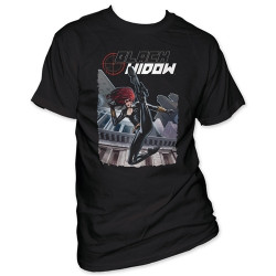 Image for Black Widow T-Shirt - Kick