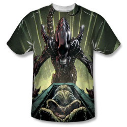 Image for Alien Sublimated T-Shirt - Egg Collection 100% Polyester