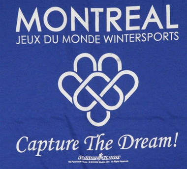 Image for Blades of Glory Montreal Games T-Shirt