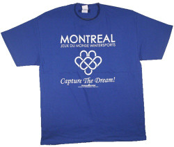 Image Closeup for Blades of Glory Montreal Games T-Shirt