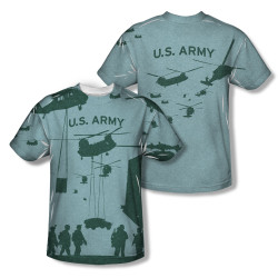 Image Closeup for US Army Sublimated Youth T-Shirt - Airborne