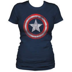 Image for Captain America Girls T-Shirt
