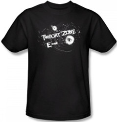 Image Closeup for Twilight Zone Another Dimension T-Shirt