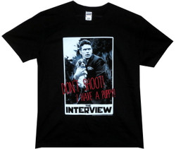 Image for The Interview Don't Shoot I Have a Puppy T-Shirt