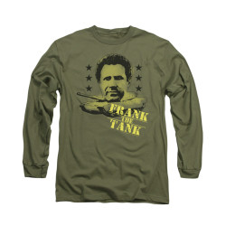 Image for Old School Long Sleeve T-Shirt - Frank the Tank