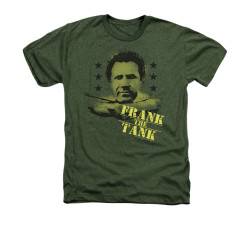 Image for Old School Heather T-Shirt - Frank the Tank