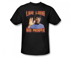 Image for Star Trek T-Shirt - Live Long and Prosper