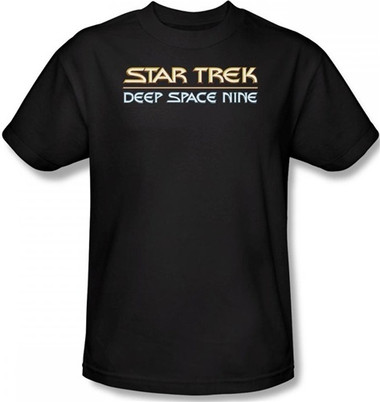 Image for Star Trek Deep Space Nine T-Shirt - Logo