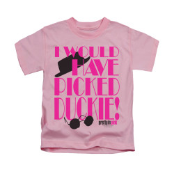 Image for Pretty in Pink Kids T-Shirt - Picked Duckie