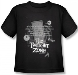 Image for Twilight Zone Monologue Kids T-Shirt