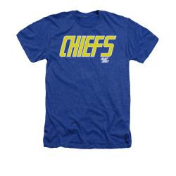 Image for Slap Shot Heather T-Shirt - Chiefs Logo