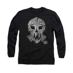 Image for Slap Shot Long Sleeve T-Shirt - Goalie Mask