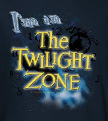 29411bcc2f6 Twilight Zone I m in the Twilight Zone T-Shirt - NerdKungFu