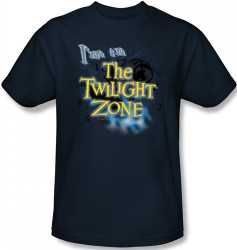 Image Closeup for Twilight Zone I'm in the Twilight Zone T-Shirt
