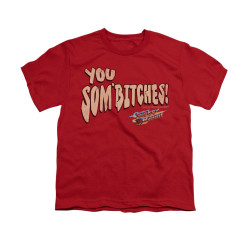 Image for Smokey and the Bandit Youth T-Shirt - Sombitch
